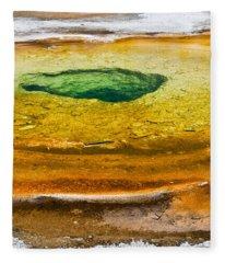 Chromatic Pool Vertical Fleece Blanket