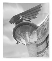 Chrysler Building 4 Fleece Blanket