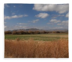 Chupadera Mountains Fleece Blanket