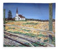 Church Meadow Fleece Blanket