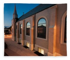 Church Reflections Fleece Blanket