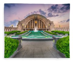 Cincinnati Museum Center Fleece Blanket