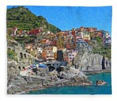 Cinque Terre Itl3403 Fleece Blanket
