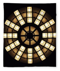 Circle In A Square Fleece Blanket