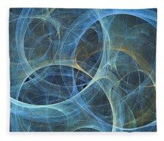 Cirque De Fractales Fleece Blanket