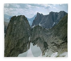 209615-cirque Of Towers, Wind Rivers, Wy Fleece Blanket