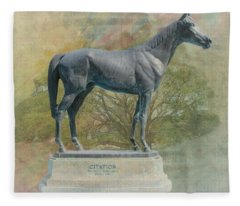 Citation Thoroughbred Fleece Blanket