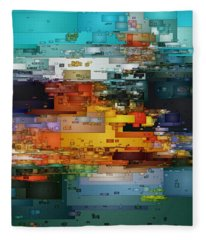 City Of Color 1 Fleece Blanket