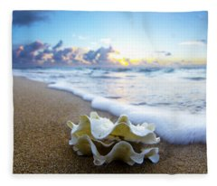 Clam Foam Fleece Blanket