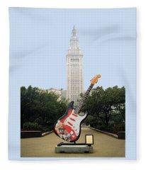 Cleveland Rocks Fleece Blanket