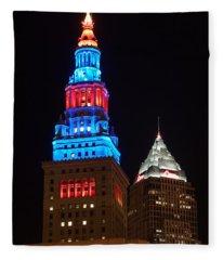 Cleveland Towers Fleece Blanket