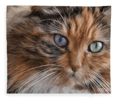 Cloe Kitty Fleece Blanket