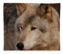 Close Up Fleece Blanket