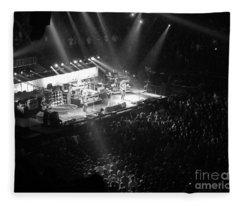 Pearl Jam Photographs Fleece Blankets