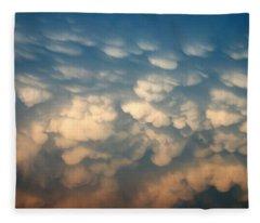 Cloud Texture Fleece Blanket
