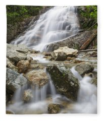 Cloudland Falls - Franconia Notch State Park New Hampshire Usa Fleece Blanket