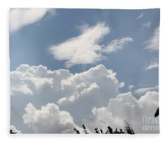 Clouds 2 Fleece Blanket