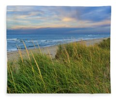 Coast Guard Beach Cape Cod Fleece Blanket