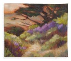 Coastal Color Fleece Blanket