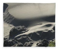 Coastal Dunes Sand Box - Southern Oregon Fleece Blanket