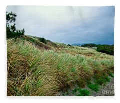 Coastal Flora, Oregon Fleece Blanket