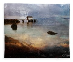 Coastal Path Fleece Blanket