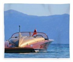 Cobra At Tahoe Fleece Blanket