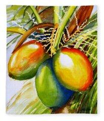 Coconuts Fleece Blanket