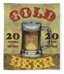 Cold Beer Fleece Blanket