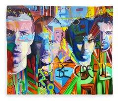 Coldplay Fleece Blanket
