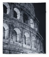 Colosseum Before Dawn Fleece Blanket