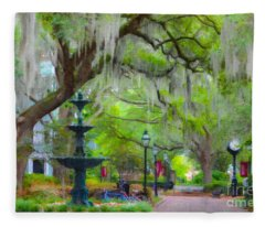 College Of Charleston Fleece Blanket