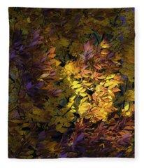 Color Calls Fleece Blanket