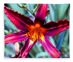 Color Explosion II Fleece Blanket