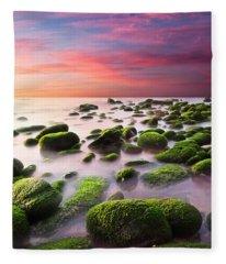 Color Harmony Fleece Blanket