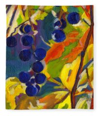 Colorful Expressions  Fleece Blanket