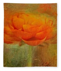 Colorful Impressions Fleece Blanket