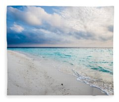 Colors Of Paradise Fleece Blanket