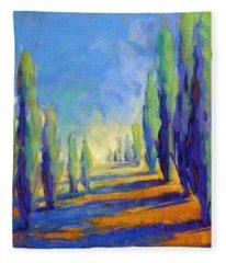 Colors Of Summer 8 Fleece Blanket