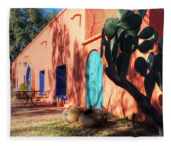 Colors Of The Desert Southwest Fleece Blanket