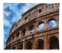 Colosseo Fleece Blanket