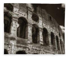 Colosseum Wall Fleece Blanket