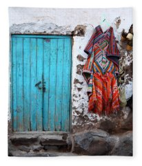 Colours Of Peru Fleece Blanket