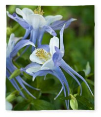 Columbine-2 Fleece Blanket