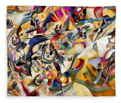 Composition Vii  Fleece Blanket