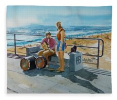 Concert In The Sun To An Audience Of One Fleece Blanket