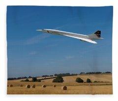 Concorde At Harvest Time Fleece Blanket