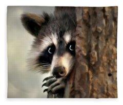 Conspicuous Bandit Fleece Blanket