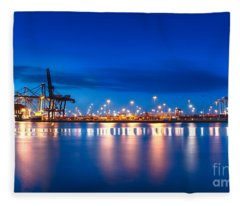 Freight Night Fleece Blanket
