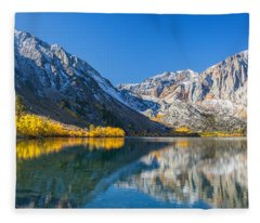 Convict Lake Fleece Blanket